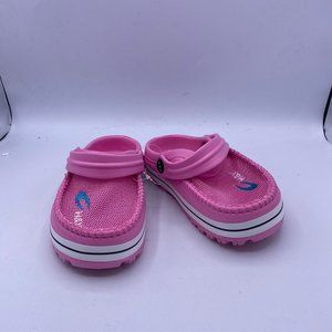 pink children's classic mesh shoes